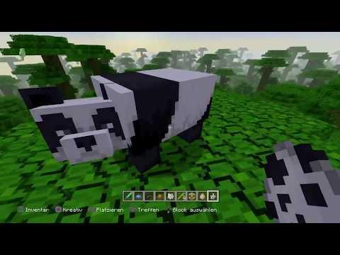 Minecraft Ps4 Ps3 Dezember Update Pandas Bambus Und Mehr