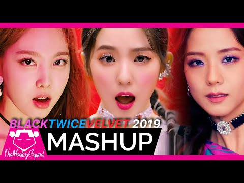 TWICE /BLACKPINK /RED VELVET - 'Kill This Love /Fancy /Zimzalabim' MASHUP
