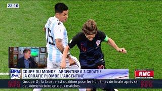 """Courbis : """"L'histoire de Messi avec l'Argentine est totalement différente de celle de Maradona'"""