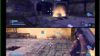 Cold Winter PS2 Multiplayer Gameplay (Sierra) Playstation 2