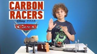 Disney Cars Carbon Racers: распаковка и обзор