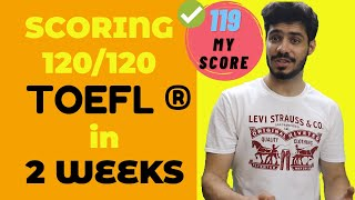 Scoring 120 on the TOEFL in 14 days || Complete Day-by-Day Prep-Plan (toefl tips) screenshot 1