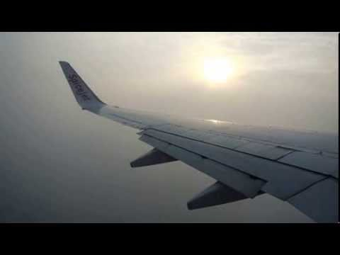 Take Off from Kolkata airport & landing at Bangalore airport (Spicejet)