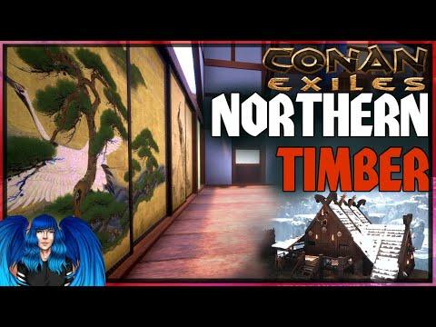 NORTHERN TIMBER SPOTLIGHT NEW BUILDING SET | Conan Exiles | |