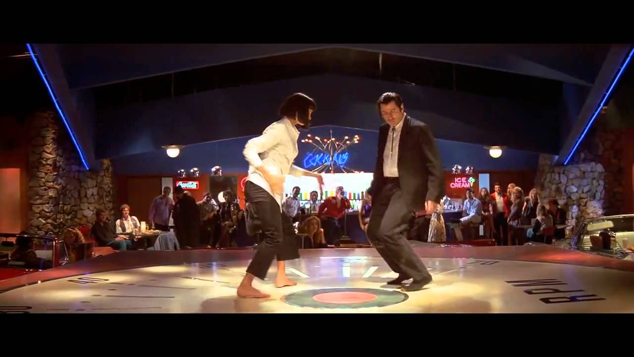 Cars Wallpaper Gif Quentin Tarantino Pulp Fiction Dancing Scene Youtube