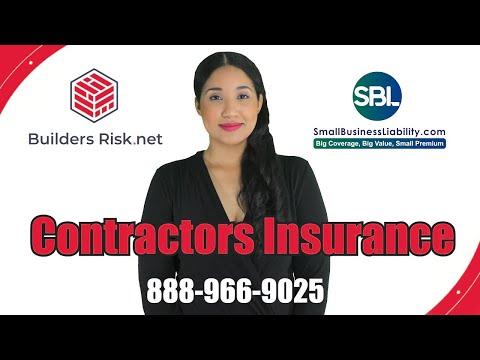 Contractors Insurance Quote