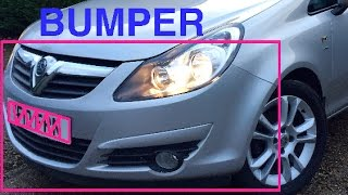 How to Remove Vauxhall Corsa D Front Bumper