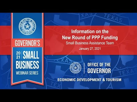Governor's 2021 Small Business Webinar Series Thumbnail