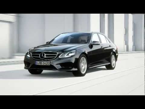 Mercedes Benz E Class Assistance Systems BAS PLUS with Cross Traffic Assist - 동영상