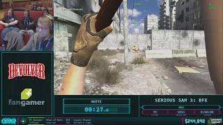 Serious Sam 3: BFE by Kotti in 41:48 - AGDQ 2018 - Part 38