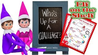 Purple & Pink Elf on the Shelf - Huge Indoor Scavenger Hunt! Day 14