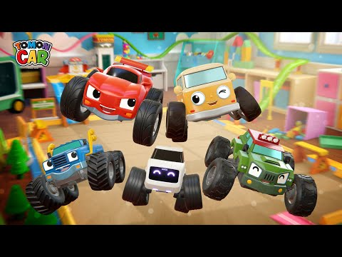 Learn Colors And Numbers Play | Compilation 1hour Kids Songs Educational For Kids Tomoncar World