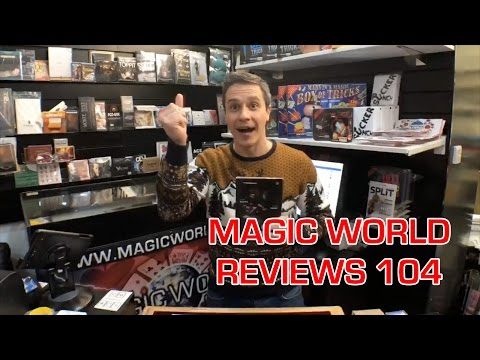 Magic World Reviews 104 LIVE! - Sharpie Through Bill by Alan Rorrison // Lap by Dani DaOrtiz