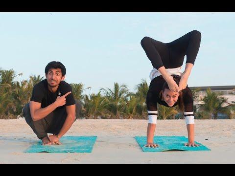 Respect your body through Yoga  - يحترمون اجسامهم من خلال هذه الرياضة