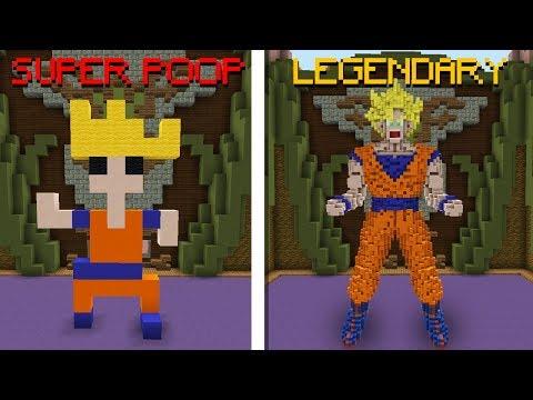 Minecraft: SÓ POSSO DAR LEGENDARY OU SUPER POOP NO PROFISSIONAL! (BUILD BATTLE)
