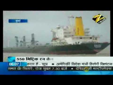 Bulletin # 1 - Coast Guard rescues merchant ship off mumbai coast July 20 '10