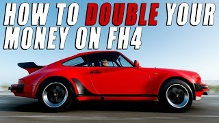 HOW TO DOUBLE YOUR MONEY ON Forza Horizon 4