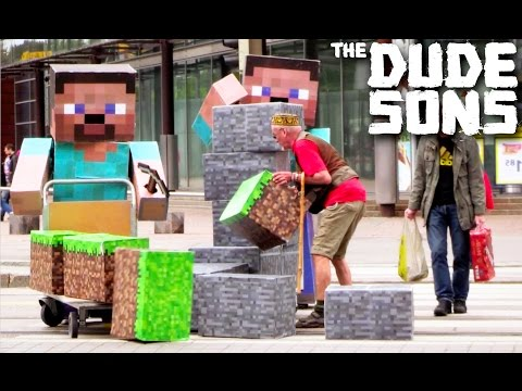 Minecraft In Real Life Pranks! - Part 4