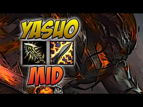 13/0 - YASUO MID GAMEPLAY - LEAGUE OF LEGENDS - ETERNO LOL