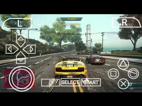 How To Download Need For Speed Most Wanted PPSSPP Game For Android Only 170 MB