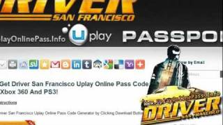 Driver San Francisco Uplay Online Pass Free Giveaway - Tutorial