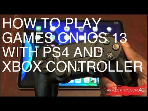 How To Connect/Pair Xbox & PS4 Controller To IPhone & IPad To Play IOS Games In IOS 13