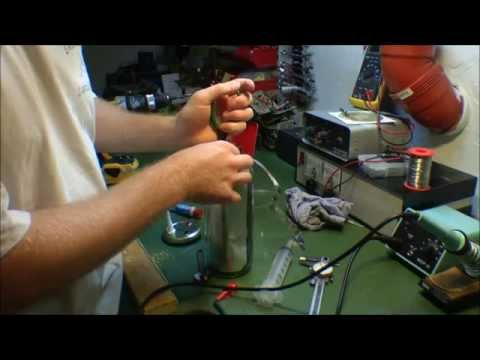 Making a HHO generator to burn green energy - 074