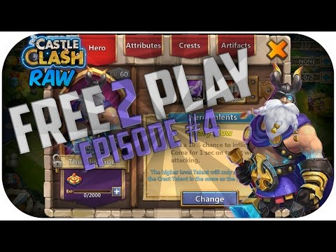 Free Thunder God! Raw's Free 2 Play (#4) [Castle Clash Raw]