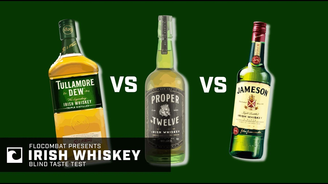 b8de109da BLIND TASTE TEST: Conor McGregor Proper No. 12 vs. Jameson vs. Tullamore  Dew | Which Whiskey Wins?