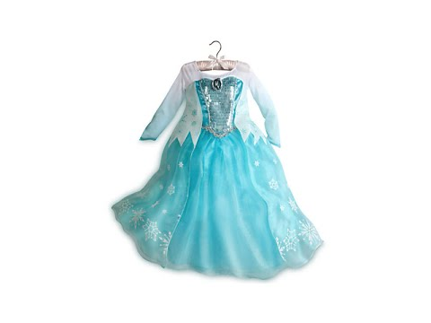 FROZEN QUEEN ELSA DISNEY STORE DRESS REVIEW Disney Princess Elsa ...