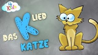 Das K-Lied für Kinder zum lernen und mitsingen. Alphabet Buchstabenlieder