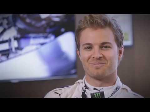 Nico Rosberg previewing the German GP