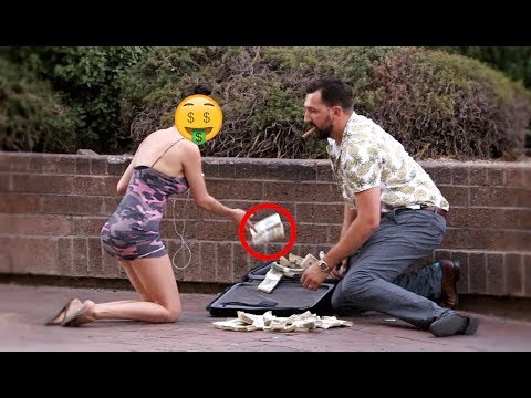 DROPPING $1,000,000 PRANK!!