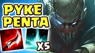 PYKE JUNGLE PENTAKILL!!! BEST JUNGLER OF SEASON 9 | FIRST TIME IN OVER 10 YEARS I'M DOING THIS...