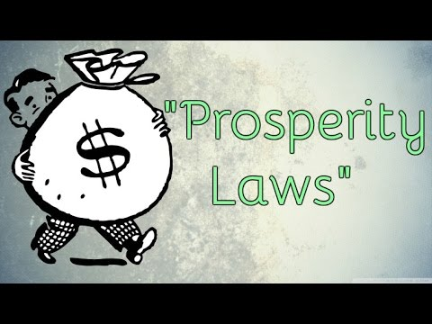 The Universal Laws Of Prosperity And Abundance!  (Law Of Attraction)