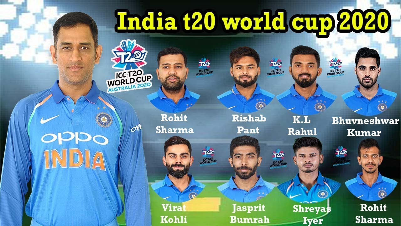 ICC T20 World Cup 2020 Team India Squad | Indian 11 Members T20 Squad | 11 Players list