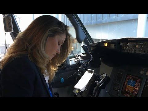 All-female flight crew inspires new generation to aim high ...