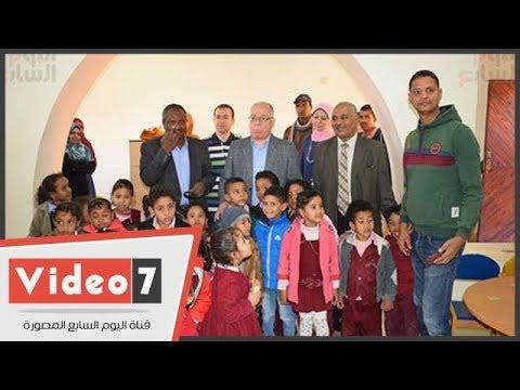 وزير الثقافة يتفقد قصر ثقافة الطارف بالأقصر.. ويلتقط صورا مع الأطفال  - نشر قبل 18 ساعة