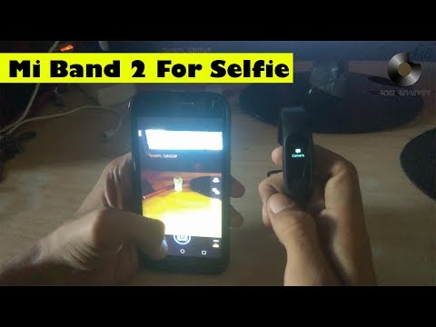 How to take selfie with Mi Band 2