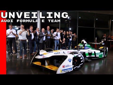 Audi Formula E Team Unveiling