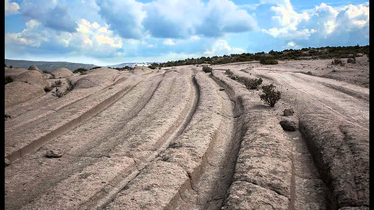 Vehicle History Report >> History's Mysteries: Ancient Vehicle Tracks Discovered In ...