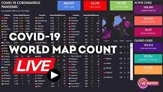 [LIVE] Novel Coronavirus Live Map: Breaking news, world Map and live counter on confirmed case