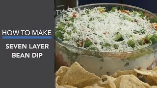7 Layer Bean Dip (with Bone Broth Protein)