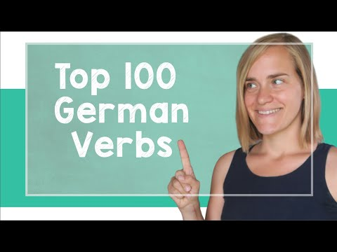German Lesson (107) - The Top 100 German Verbs - A2