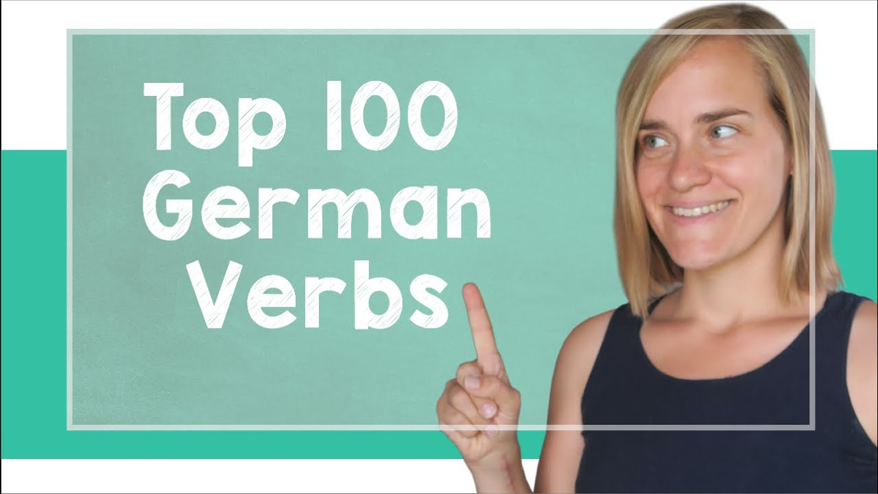 german lesson 107 the top 100 german verbs a2 youtube. Black Bedroom Furniture Sets. Home Design Ideas