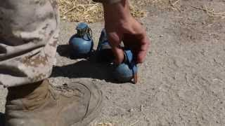 U.S. Marine Corps Live-Fire Grenade Training Exercise