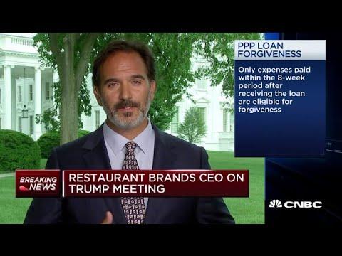 Restaurant Brands CEO on meeting President Donald Trump