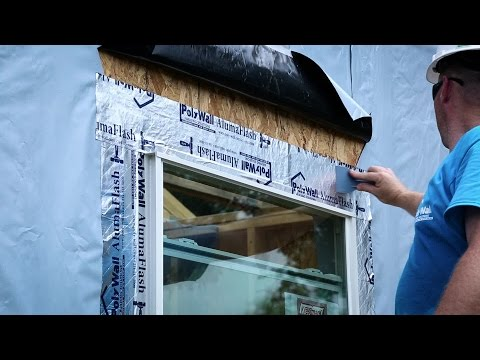 Poly Wall® - Building Solutions (PBS) - Aluma Flash™ Application