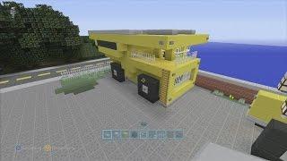 SPANKLECHANK'S Minecraft Tutorials: How to make a Dump Truck
