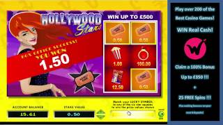 Hollywood Stars Scratch Card – Play the Best Scratch Cards Online!